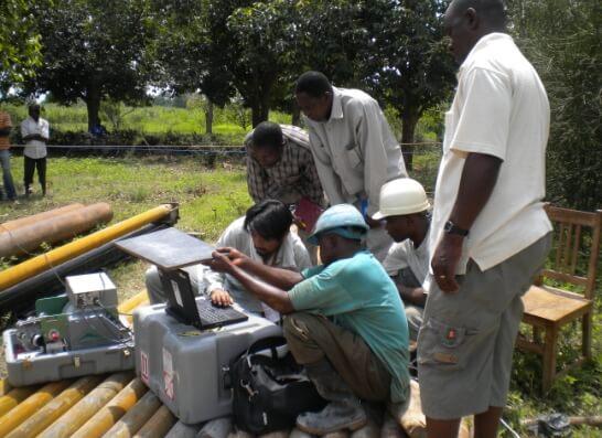 給水プロジェクトにおける水資源開発調査 ESS 株式会社地球システム科学の画像